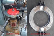 氨气缓冲罐压力调节阀堵漏